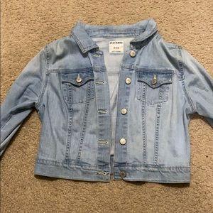 old navy denim jean jacket (brand new!!)